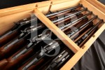 "10x Consecutively Numbered Browning Model 71 Limited Edition Grade I Carbines, Blue 20"" Lever Action Rifles in Factory Crate, MFD 1987"