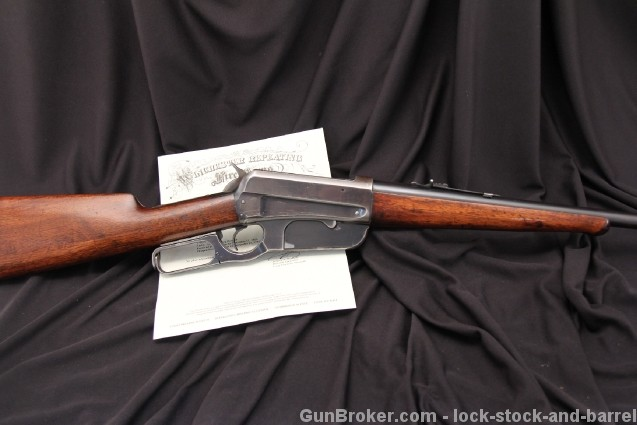 Rare Winchester Model 1895 .40-72 WCF Lever Action Rifle with Cody Letter