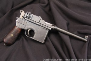 Pre-War Commercial 1896 C96 Broomhandle Mauser