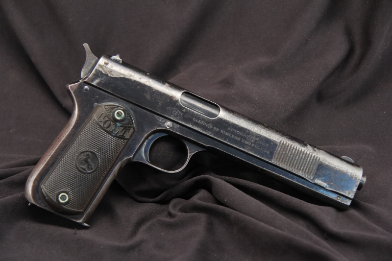 Colt Model 1902 Sporting -- .38 Auto Long Slide Semi Auto Pistol - 1903 C&R OK
