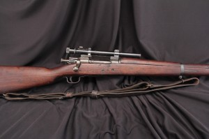U.S. WWII Remington 1903-A4 .30-06 Bolt Action SNIPER RIFLE w/ Weaver 330 Scope