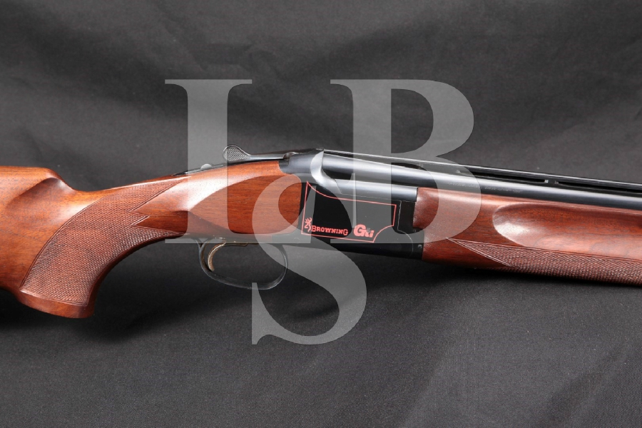 "1st Year Browning Model Citori GTI G.T.I. Grade I, Blue 28"" Over / Under, Selective Barrel Shotgun, MFD 1989"
