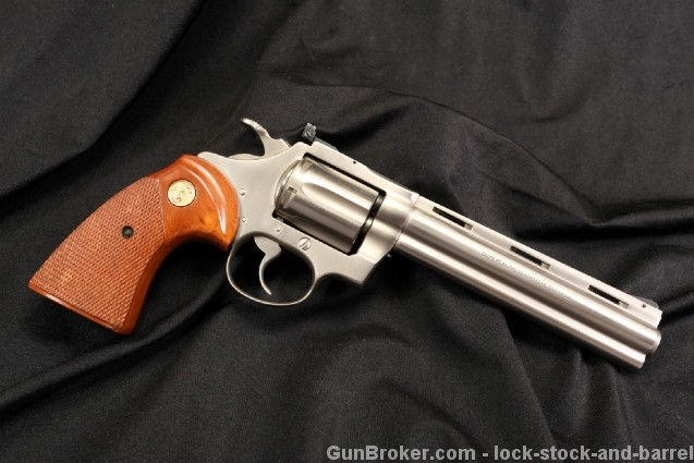 Rare Electroless Satin Nickel Colt .22 Diamondback .22 LR Double Action Revolver - Excellent & Rare