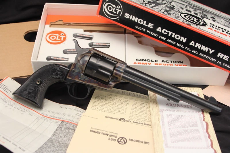 2nd Generation .45 Colt SAA, Single Action Army Revolver, In the Box
