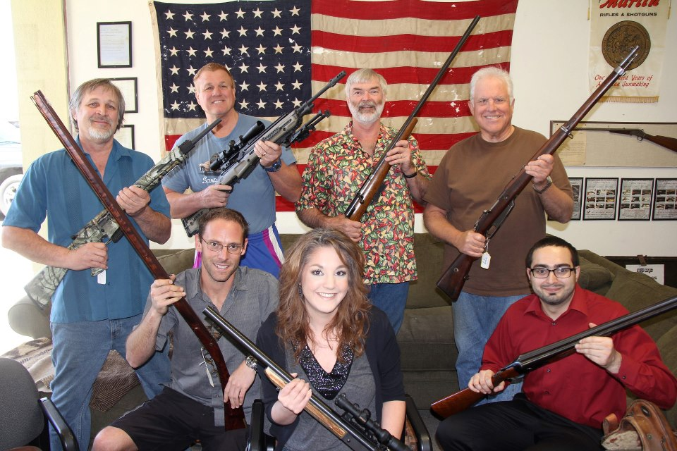 Cool Guns and Cool Guys at Lock Stock and Barrel Investments