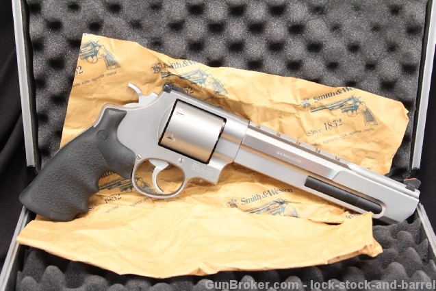 "Smith & Wesson, S&W Performance Center Model 629-6, 7 1/2"" Stainless .44 Magnum Double Action Revolver"