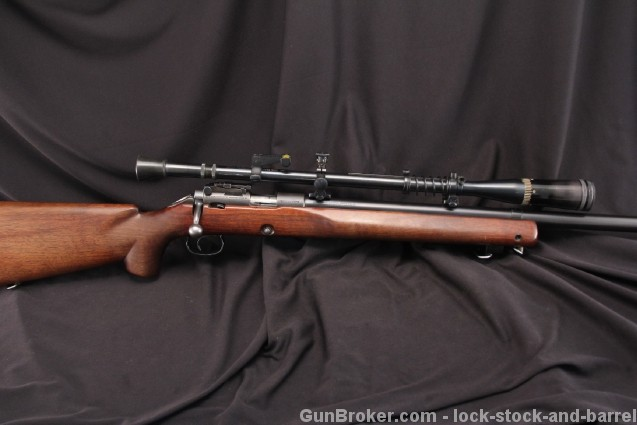 Winchester Model 52, 52B .22 LR Bolt Action Target Rifle - 1948 C&R - w/ Targetspot Scope