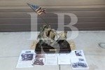 90 lb. Bronze Statue of the Iwo Jima Flag Raising