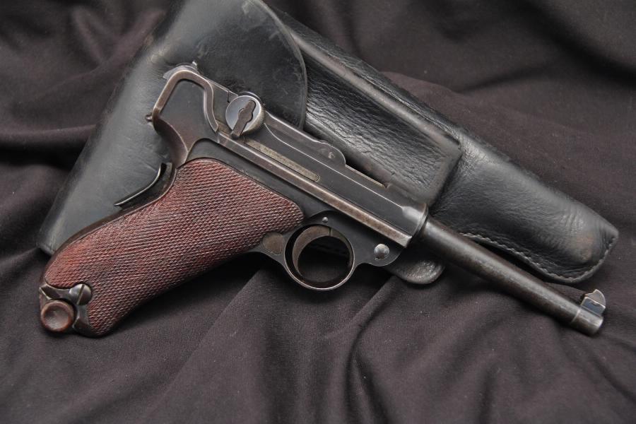 American Eagle Luger 1900 -- 7.65mm Semi Auto Pistol & Holster C&R