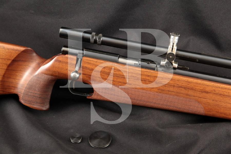 """Anschutz Model Match 54 Target, Blue 26"""" Bolt Action Rifle, Unertl 16X Scope, MFD 1969"""