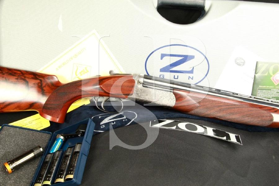 Antonio Zoli Ambassador EL O/U Over/Under 32 Factory Threaded Choke Shotgun & Negrini Case