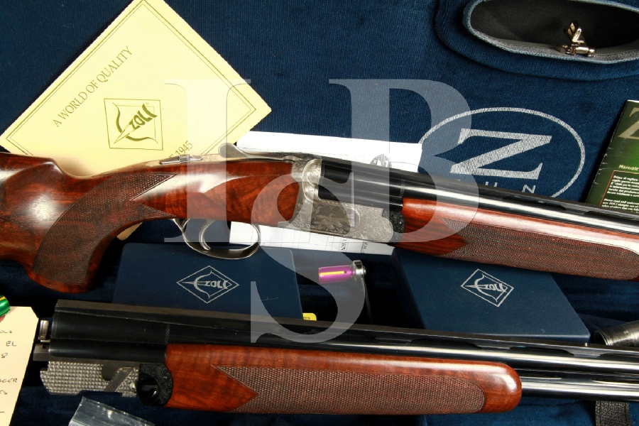 Antonio Zoli Ambassador EL Threaded Choke 32 O/U Over/Under Shotgun & Negrini Case MFD 2008