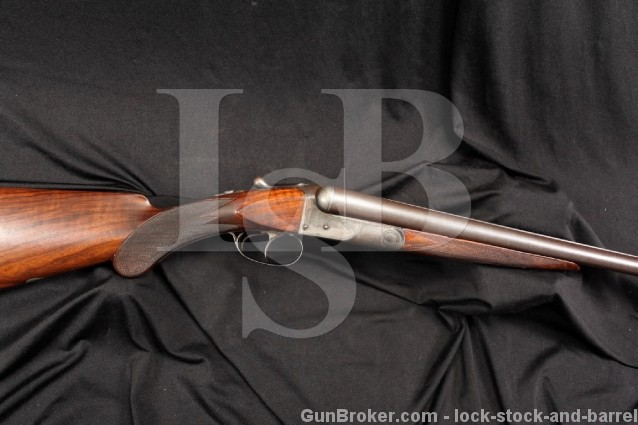 BEAUTIFUL Colt Model 1883 12 Gauge Hammerless SxS Side by Side Shotgun - MFD 1890 Antique