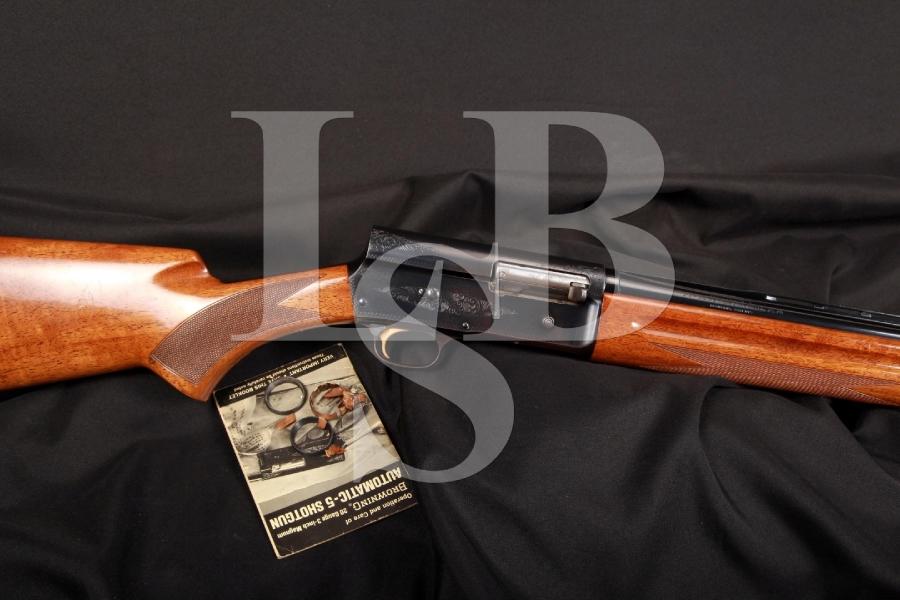 Belgian Browning Auto Five A5 Magnum Twenty Semi-Automatic Shotgun MFD 1971