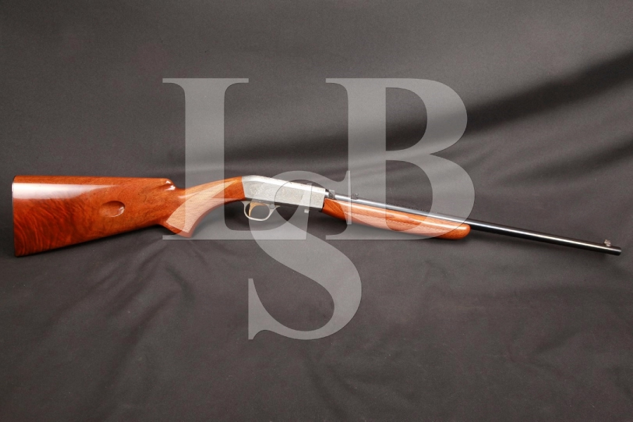 Belgian FN Browning SA-22 SA22 SA 22 Grade II Angelo Bee Engraved Semi-Automatic Takedown Rifle, MFD 1959 C&R