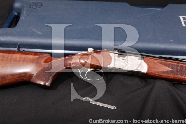 """Beretta Model 687 Silver Pigeon II 32"""" 12 Ga. O/U J687418, Over/Under Shotgun & Case, MFD 2003"""