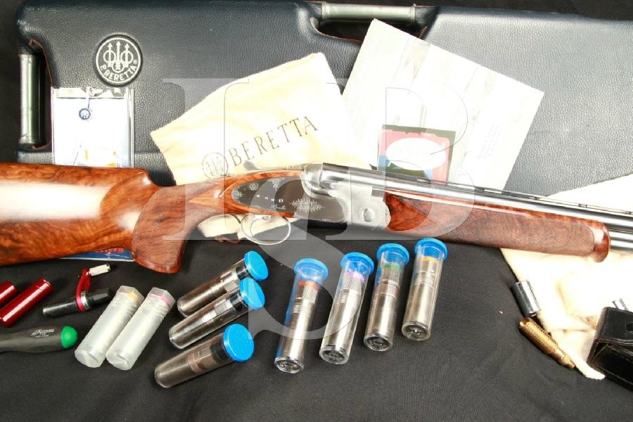 Beretta SO5 Sporting Clays Factory & Briley Choke 29.5 O/U Over/Under Shotgun & Case, MFD 2003