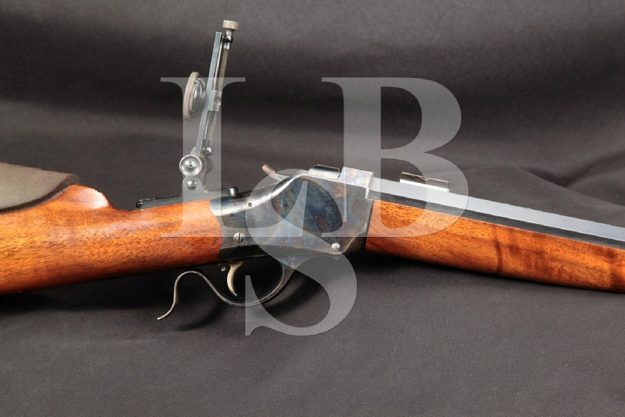 "Single Shot Inc. / Big Timber MT. Model 1885, Blue 28"" Single Shot High Wall Falling Block Rifle"