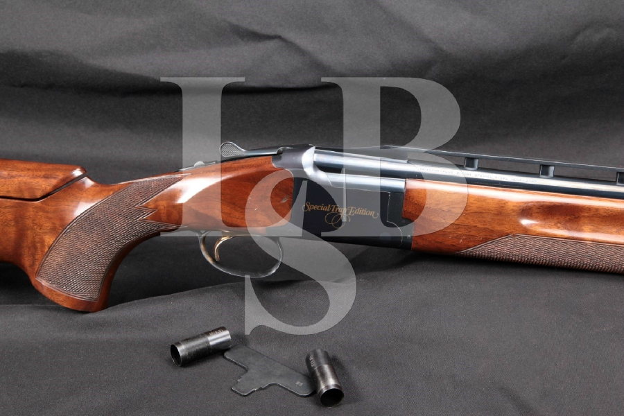"Browning Citori Special Trap Edition, Adjustable Comb, Blue 32"" O/U Over / Under Shotgun & Screw-In Chokes, 1998"