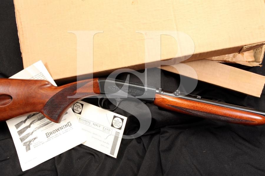Browning Grade I .22 LR Take Down Semi-Automatic Rifle & Box - 1959 C&R OK