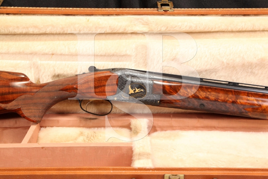 Browning Superposed 12 Gauge Midas Grade BROADway Trap, E. Theunens Engraved O/U Over Under Shotgun