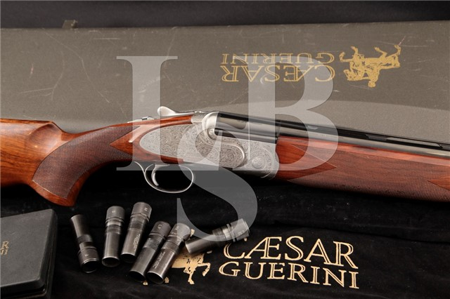 "Caesar Guerini Maxum 32 3/4"" Over Under 12 Gauge Shotgun, Master Engraved by Bottega Giorlanelli"