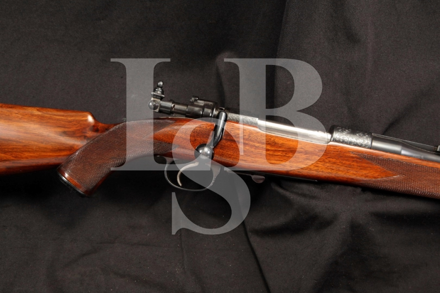 Cogswell & Harrison Custom Mauser .30-06 Bolt Action Rifle Finely Engraved C&R OK