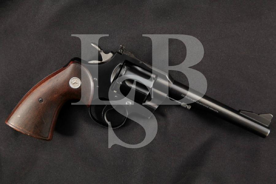 "Colt .357 Magnum Model, Scarce 1 of 15,000, Blue 6"" 6-Shot, DA/SA Double Action Revolver, MFD 1959 C&R"