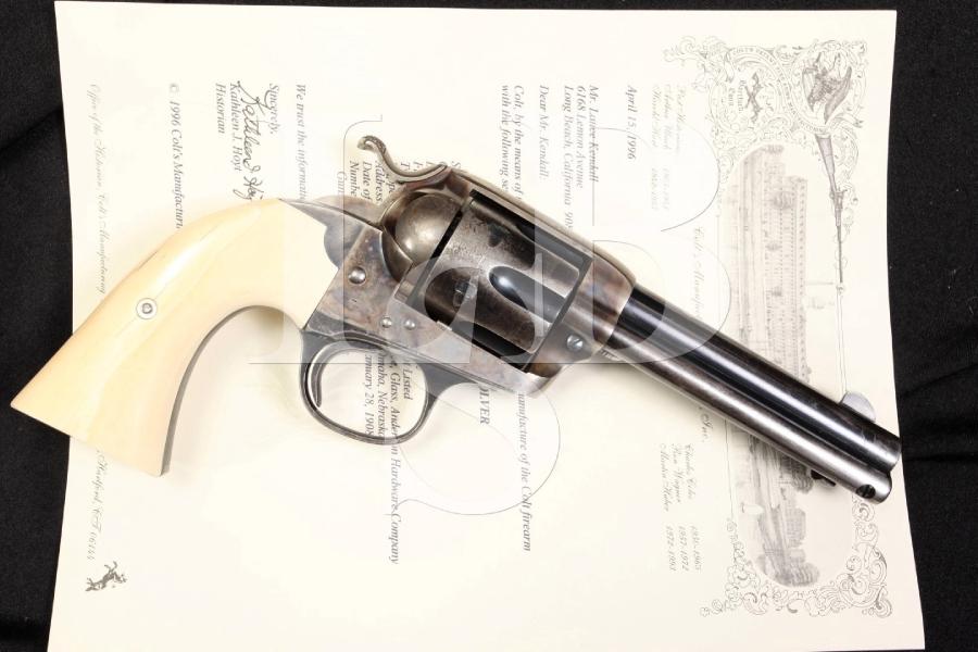 Colt 1873 Single Action Army Bisley Model .32-20 WCF SAA Revolver - 1908 C&R OK