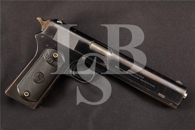 Colt 1902 Military Model .38 Semi Automatic Pistol High Condition Gun! MFD 1917, C&R OK - No mag