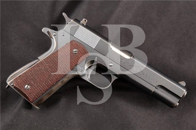 "Colt 1911 Model ACE .22 LR Blue 4.75"" Semi Automatic Pistol, MFD Pre 1947 C&R"