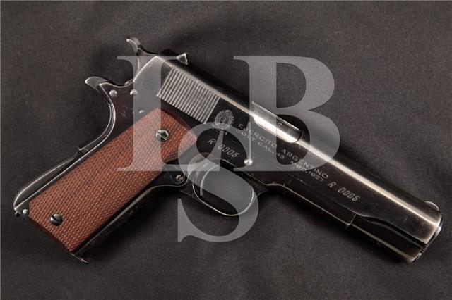 Colt 1911A1 2nd Argentine Systema Contract 1927 Uniquely Marked Ser# R0005 Semi-Auto Pistol C&R OK