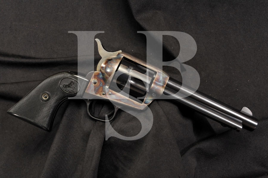 Colt 2nd Generation SAA 1873 Single Action Army Revolver .38 Spl - 1956 C&R OK