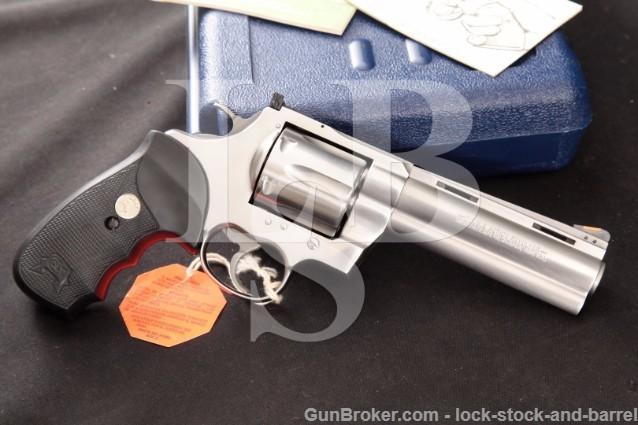 "Colt Anaconda .44 Magnum 5"" Stainless Revolver"