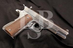 Colt Commercial Model ACE .22 LR Semi Automatic Pistol, 1931 1st Year MFG, C&R