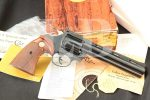 Colt Diamondback Model D5160, Blue 6 INCH .22 LR 6-Shot Double Action Revolver, Box & Paperwork, MFD 1978