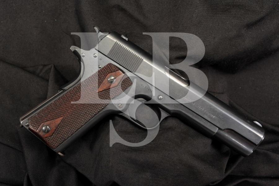 Colt Government Model 1911 US Army .45 ACP Semi Auto Pistol MFD 1913 C&R OK