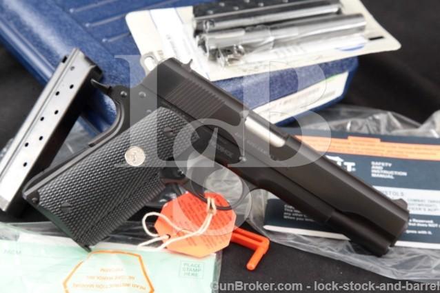 Colt MK IV Series 80 Government Model 9x23mm Win! Semi Auto Pistol, Box & 38 Super Conversion Kit