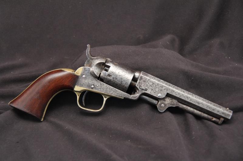 Colt Model 1849 Pocket .31 Cal -- Percussion Single Action Revolver - Antique 1860