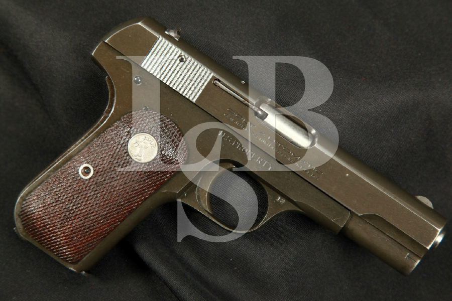 "Colt Model 1903 OSS Issued General Officer's Pistol, 3 ¾"" Semi-Automatic Pistol, MFD 1944 C&R - .32 ACP (7.65mm)"