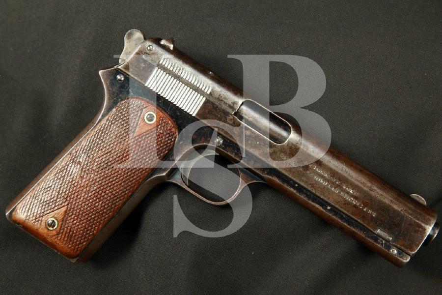 "Colt Model 1905 - THE FIRST .45 ACP - Blue 5"" Semi-Automatic Pistol No Mag MFD 1907 C&R"