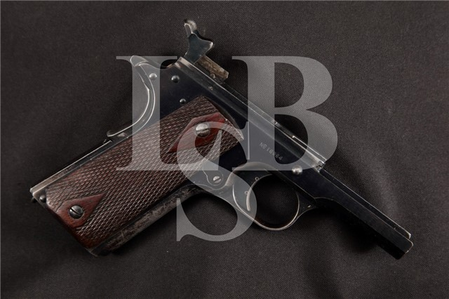 Colt Model 1911 US Army Frame, MFD 1912 S/N 16964 Shipped 12/27/1912 to Benicia Arsenal California