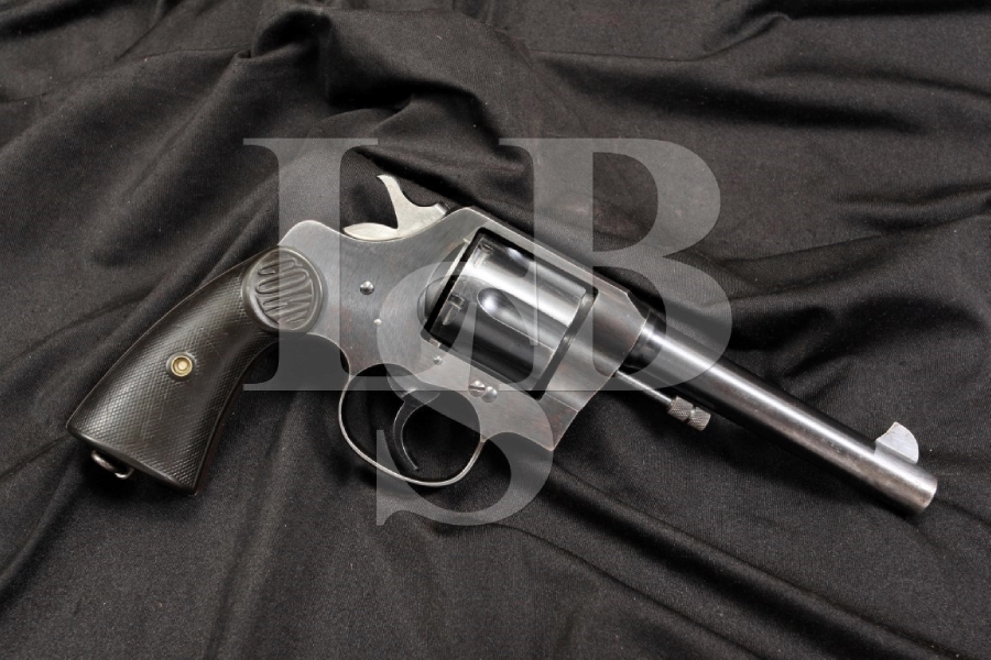Colt New Service Model 1917 -- .45 Auto Rim Double Action Revolver - WWI C&R OK