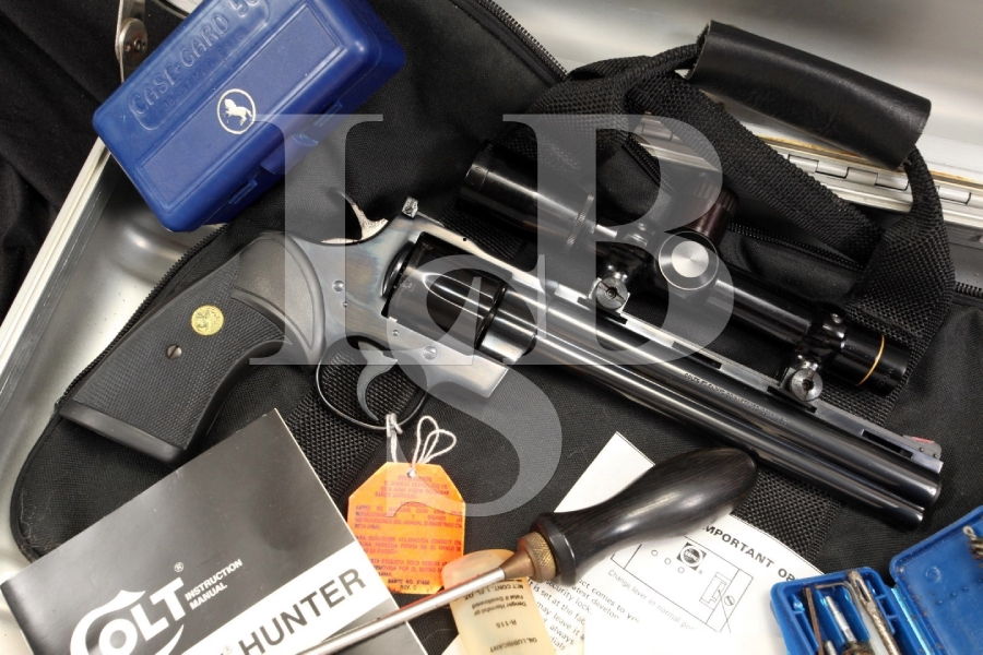 Colt Python Hunter .357 Magnum Double Action Revolver with Factory Leupold Scope & Case