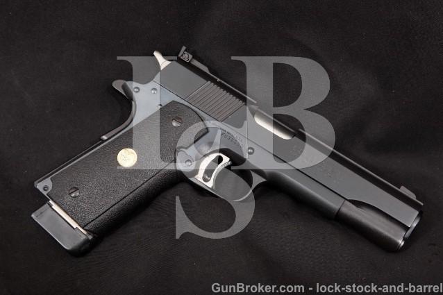 "Colt Series '80 MK IV Gold Cup National Match Blue 5"" Semi-Automatic Pistol, 1991 ATF C&R 45 ACP"