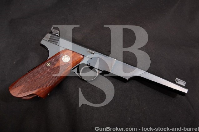 Colt Woodsman Match Target 1st Series Bullseye .22 Semi Automatic Pistol 1939 C&R 2nd Year Of Prod!