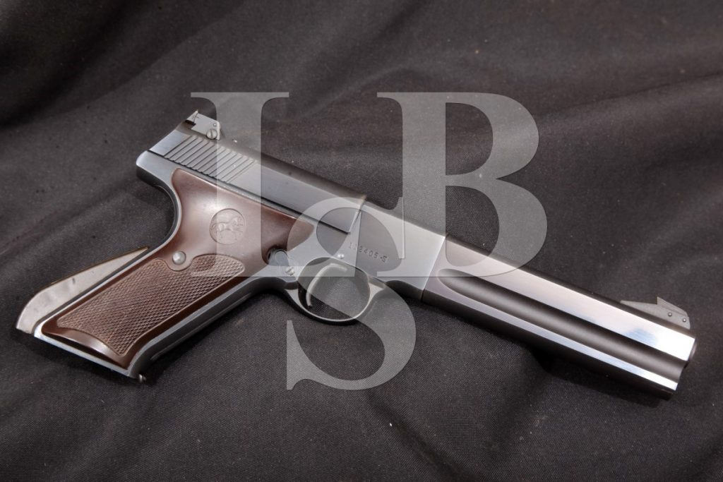 Colt Woodsman Match Target 2nd Series, Blue 6 Sa Semi-Automatic Pistol, MFD 1952 C&R .22 LR