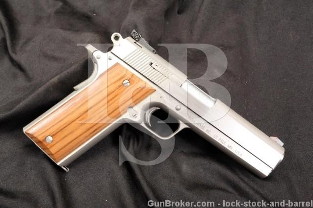 Coonan Classic Model B .357 Magnum Semi Automatic Pistol & Box