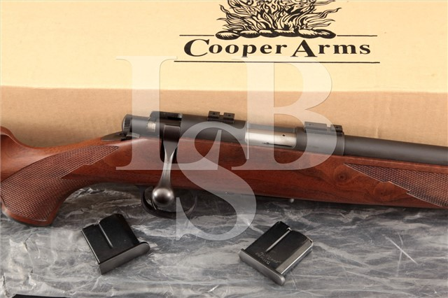 "Cooper Firearms 57-M Classic Magnum Rimfire 22"" Bolt Action Precision Rifle, Box & 3 Magazines"