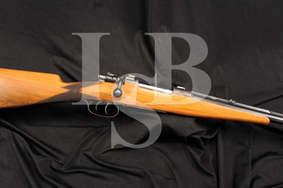 Custom 8mm Commercial Mauser Engraved Bolt Rifle with Set Triggers - Nonimport C&R OK - German Guild Gun
